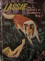 Later, 1960s cover for Lassie and the Mystery at Blackberry Bog
