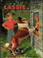 Original cover for Lassie and the Secret of the Summer