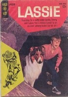 Lassie comic (with Timmy)
